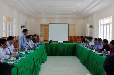 BQL VQG Phong Nha – Kẻ Bàng tiếp, làm việc với đoàn công tác của các cơ quan bộ và một số Sở, ngành tỉnh Khăm Muộn, CHDCND Lào